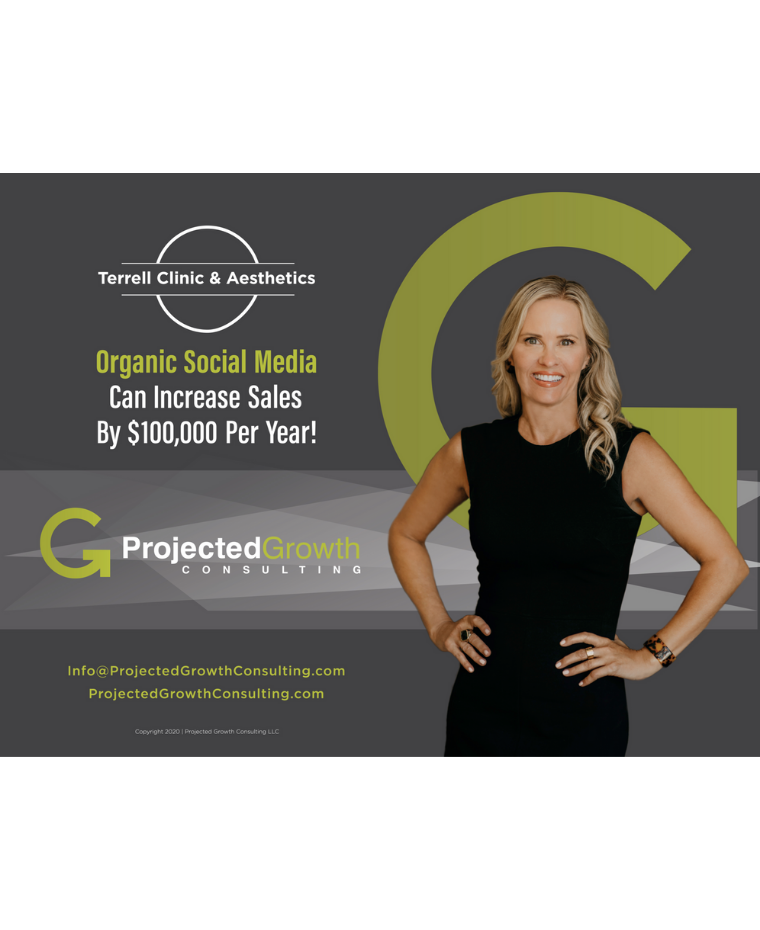 Front Cover Of PGC's Organic Social Media Case Study